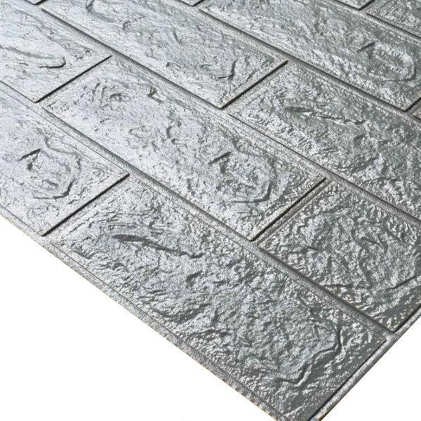 silver grey 70x38cm