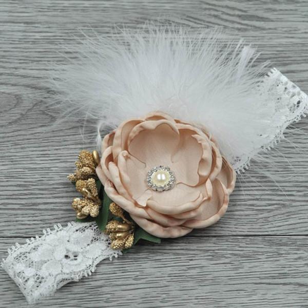 Tiaras de bebê headband crianças headband grande flor menina designer headband designer headbands acessórios para o cabelo para as meninas bandas de cabeça A5785