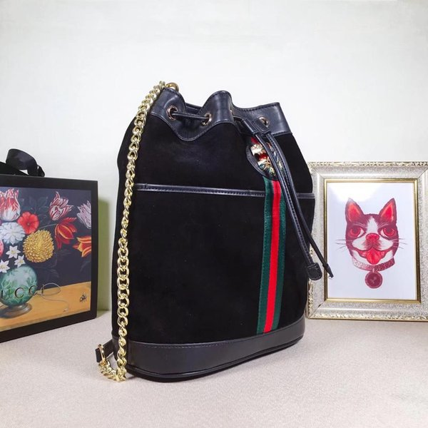 2019 luxury designer backpack fashion leather Bucket bag of red green white for man woman shoulder bags luxury designer travel luggage bag