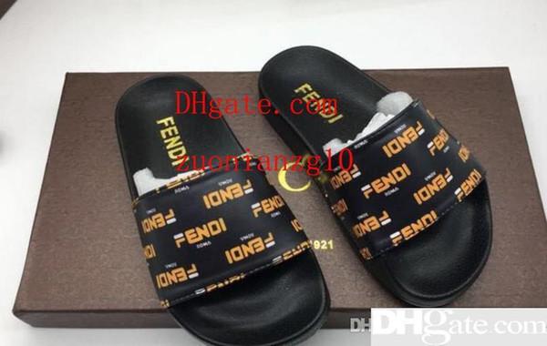 Nouveaux chaussons en cuir à semelle plate pour enfants 201919 Pantoufles extérieures pour garçons et filles
