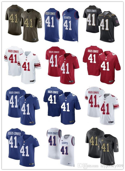 NCAA 2019 custom any numa number best Rugby jersey #New York Giant 41 Dominique Rodgers-Cr Dolphin men/WOMEN/ YOUTH FOOTBALL Jerseys s-xxxxl