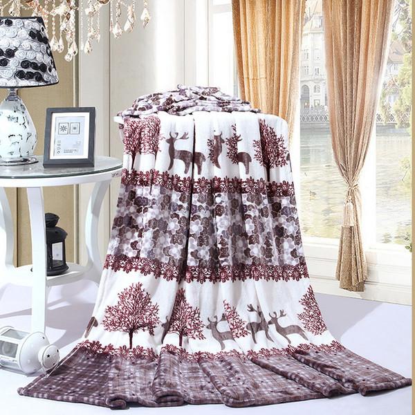 DIDIHOU Pollen World Bedspread Blanket 150x200cm High Density Super Soft Flannel Blanket To On For Sofa/Bed/Car Portable Plaids