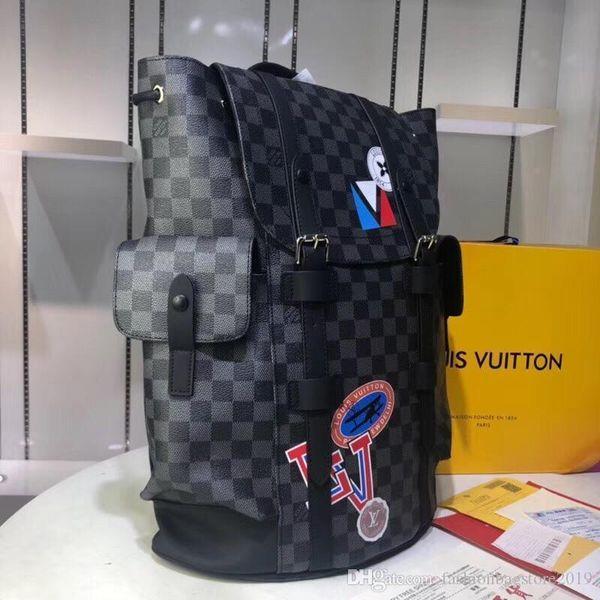 Borse Men S di viaggio delle donne del sacchetto reale Borse in pelle di cuoio Keepall 45 borse a spalla Totes N41379