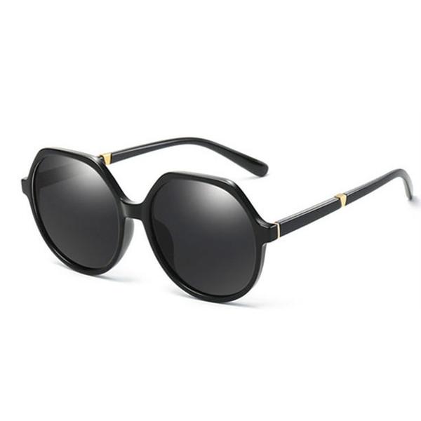 New HDCRAFTER women's luxury designer polarized sunglasses elegant large anti-UV sunglasses female HD anti-glare trend glasses to send boxes