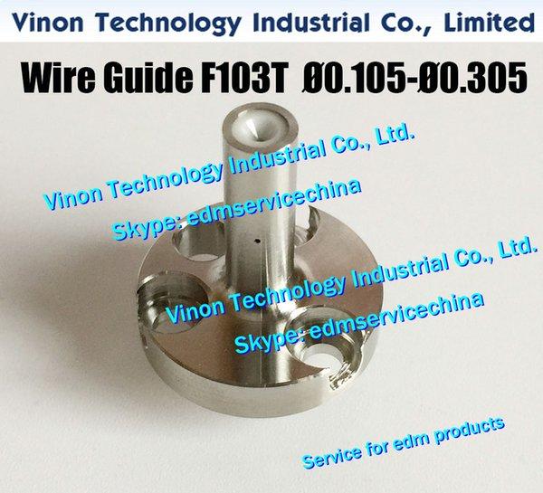 Ø0.255mm A290-8021-Y766 edm Wire Guide F103T Upper for Fanuc T,V,W series Upper diamond guide 0.255 A2908021Y766,A290-8032-Y766,A2908032Y766