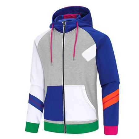 Brand Mens Sweatshirt Windbreaker Zipper Jackets Hoodies Pullover Hooded Coat Casual Designer Long Sleeve Active Panelled Running LJJ983010