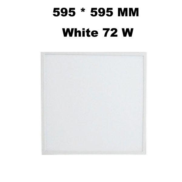 595*595 MM White 72 W