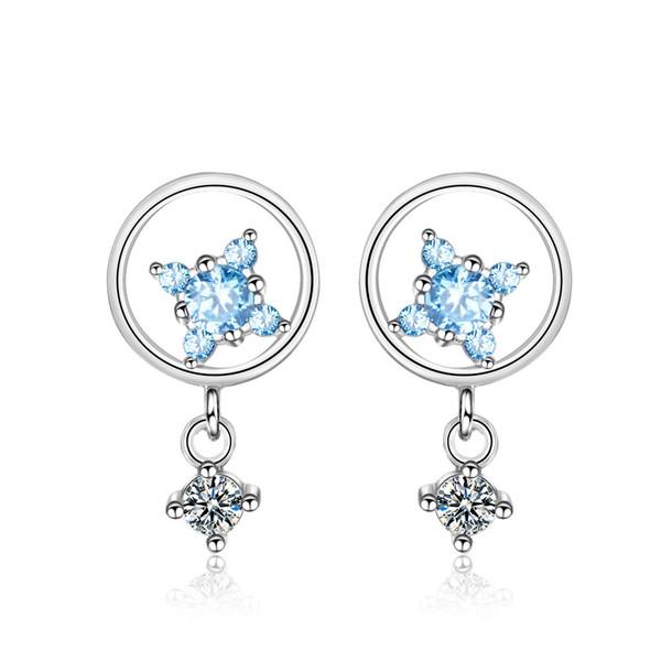 ED723 Popular Chinese Style Tassel Earrings Multicolored Shell Fan Shaped Fringe Ear Drop 6 Colors Good Quality Design Women Jewelry Melody