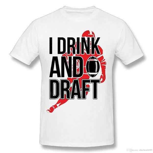 Men I Drink and Draft 3D Printed T-Shirt