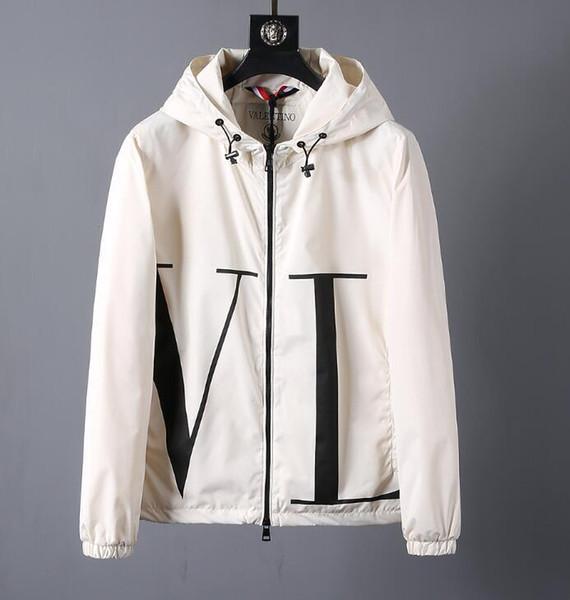 2019windbreaker mens jaqueta mens jaquetas de grife primavera e outono período e o casaco duplo para a moda casacos de lazer casaco Menswear48