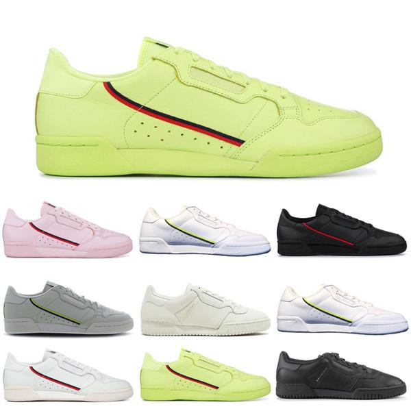 Compre Adidas Calabasas Fahion Calabasas Zapatos Casuales Continental 80 Nube Blanco Gris Powerphase Core Negro Blanco Para Hombre Zapatillas