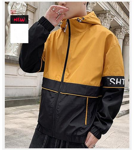 2019 Herbst Herbst Winter Mens Womens Fashion Outwear Jakcets Sport Jacke Hohe Patchwork Tops Windbreakers Lässige Mäntel M-3XL QSL1982845
