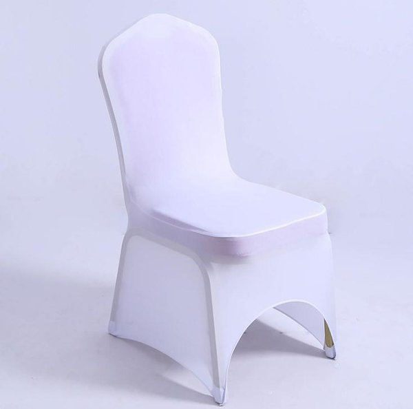 Outstanding Hotel Seat Chair Cover Stretch Elastic Universal White Spandex Wedding Chair Cover For Weddings Party Banquet Hotel Lycra Chair Cover Sn2805 Rent Ibusinesslaw Wood Chair Design Ideas Ibusinesslaworg