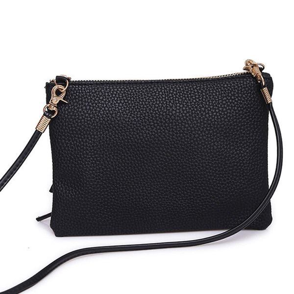 Cheap Large Tote Ladies Purse Outdoor Solid Color Sequins Handbag Simple Women Handbags Quality Pu leather Soft Face Women Bag