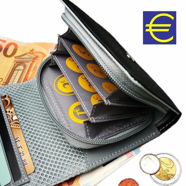 Neues Design Euro Geldbörse Brieftasche Männer Frauen Weiblich Männlich Damen Ändern Geldhalter Tasche für Jungen Leinwand Fall Veranstalter # 124857