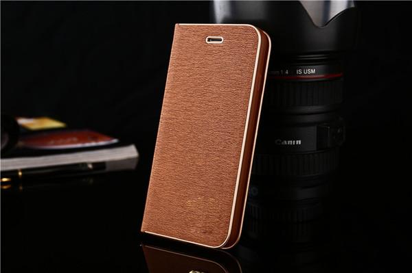 Couro maduro flip phone case para iphone x / xs max / xr 8/7/6 além de toque confortável redução de choque antiderrapante e titular