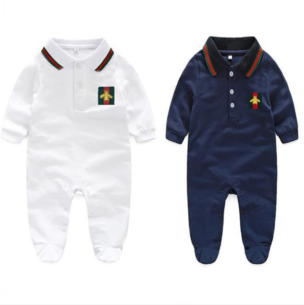 2019 new baby fur collar fashion children Siamese long sleeved garment hooded children s suits ha clothes climbing clothes 3-24M
