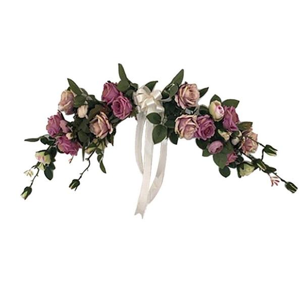 2019 Beauté Peonie Roses Classique Fleurs artificielles pour jardin Jardin Décoration de mariage Ornement Porte