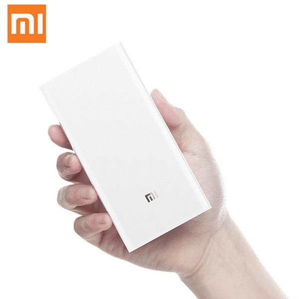 Original Xiaomi Power Bank 20000mAh 2C Portable Charger Support QC3.0 Dual USB Mi External Battery Bank 20000 for Mobile Phones