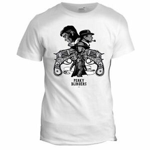 Peaky Blinders inspiriert Film TV-Film-Serie der 80er Jahre der 90er Jahre Crime Mens Mafia T-Shirt