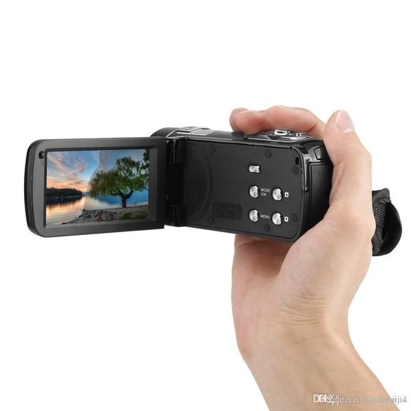 Gece Görüş FHD 1920 x 1080 3.0 inç 18X24 MP Dijital Video Kamera Kamera