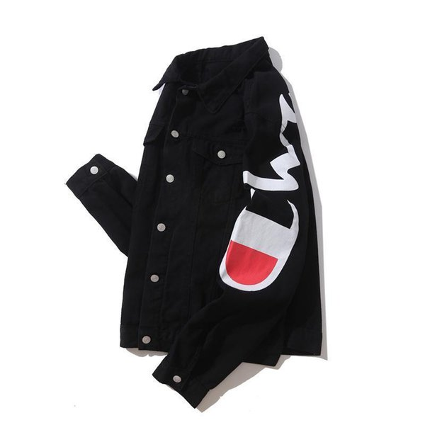 New Men Denim Jacket Winter Jacket Jean Coat Men Women Coat Streetwear Long Sleeve Mens Clothing Women Tops