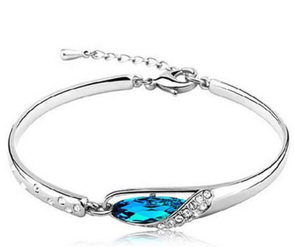 FASHION JEWELRY Angel Tears Braccialetto di cristallo austriaco per le donne. Braccialetti di alta qualità