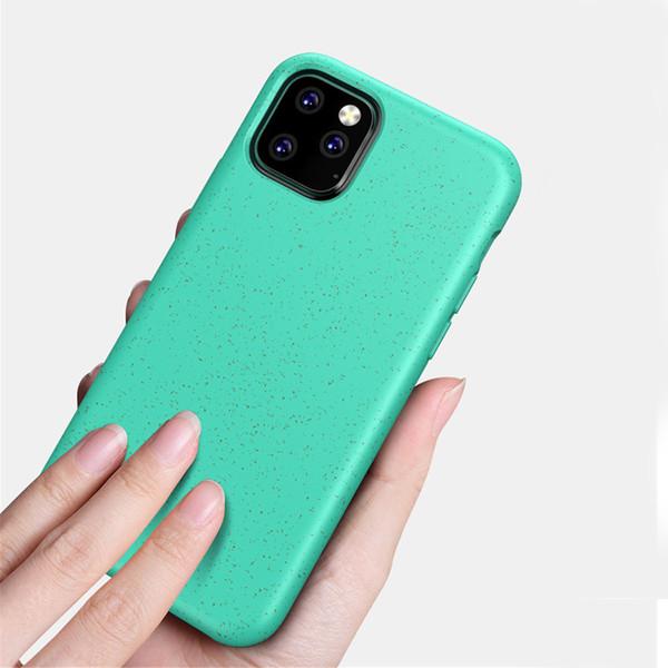 Per il caso di iPhone biodegradabile paglia di grano Telefono 11 Pro P30 Max per Huawei per Samsung Galaxy S10 nota 10