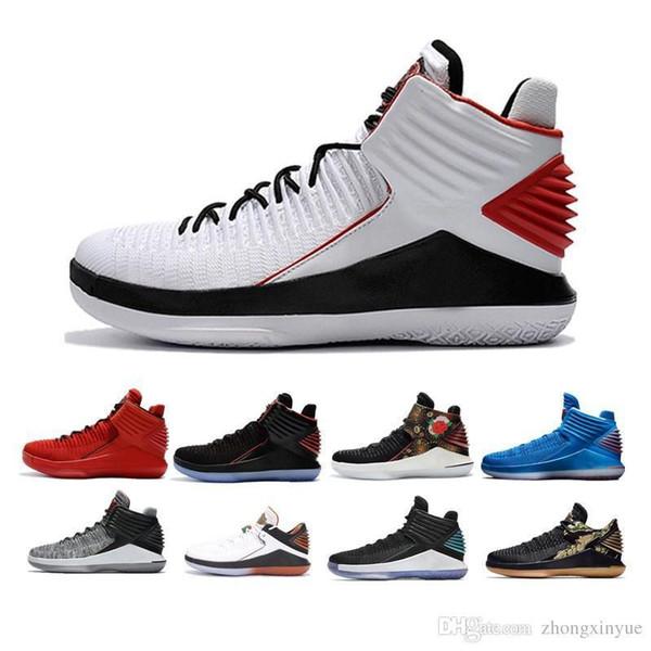 Rosso Corsa MVP lfssba 32 32 s XXXII Jade homens sapatos de basquete CNY Gatorade como Mike POR QUE NÃO RUSS Pure Platinum Sports Sneakers