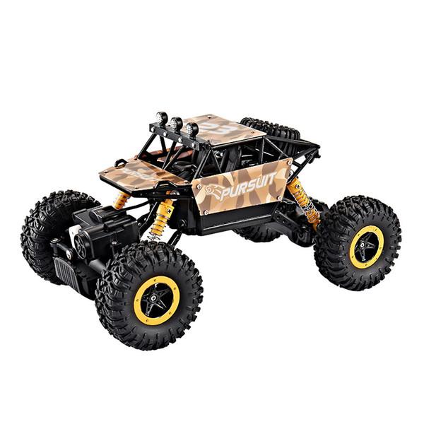 Jouet pour enfants 4wd voitures télécommandées véhicule tout-terrain rc voiture de course à grande vitesse sans fil chargeant des jouets de modèle résistant