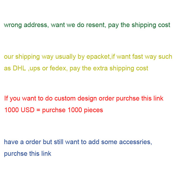 top popular this link for OEM order custom design order or pay the extra shipping 2020
