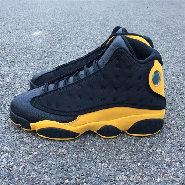 Newest 13 Melo Class Of 2002 Carmelo Anthony 13s Basketball Shoes Sale Black Red Gold Colors Suede Best Quality Real Carbon Fiber Sneakers