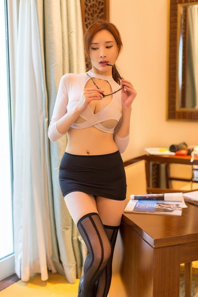 New Style Sexy underwear, European and American Female Adult Sexy secretarial uniform, seductive role-playing suit, one hair substitute