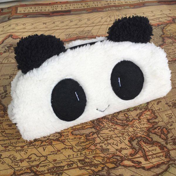 Милый мультфильм Kawaii Panda плюшевые пенал прекрасный Ручка сумки канцелярские школьные принадлежности для детей подарок студент