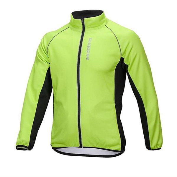 Outdoor Sport Reiten Radfahren Fahrrad Radfahren Wandern Fleece Frühling winddicht Freizeitjacke reflektierende Streifen atmungsaktiv Sportbekleidung