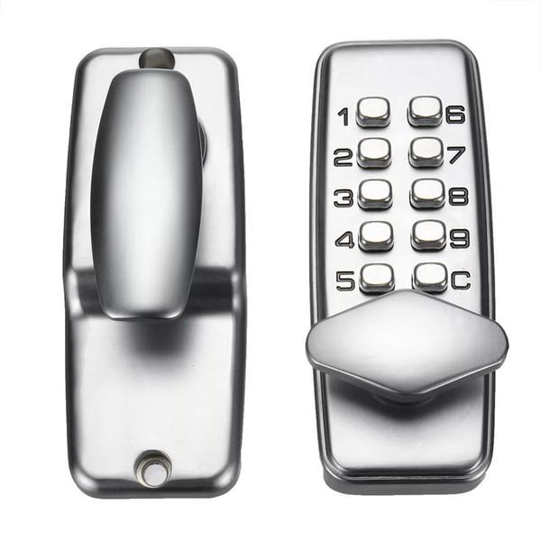best selling Mechanical Door Lock Keyless Keypad Digit Combination Lock Digital Password Code