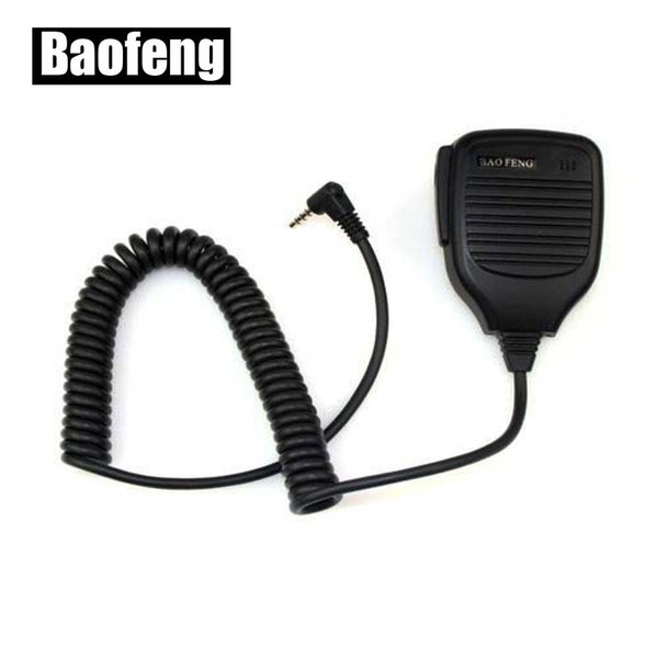 XQF Handheld Microphone Speaker Mic For Baofeng UV-3R Walkie Talkie Remote Speaker Microphone