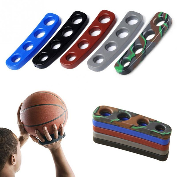 1pcs 5 Colors Silicone Shot Lock Basketball Ball Shooting Trainer Training Accessories Three-Point Size for Kids Adult Man Teens #15235