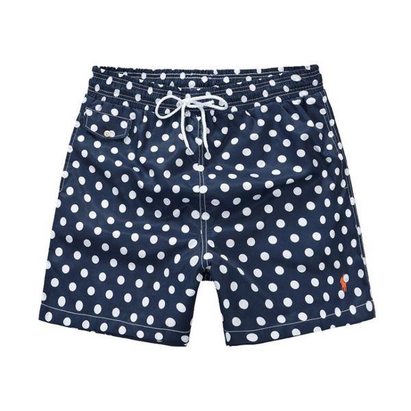 Top Fashion Dot printing Luxury Small Horse Men's Designer Beach shorts Surf Swim Sport Casual man Swimwear Sports Skate pants