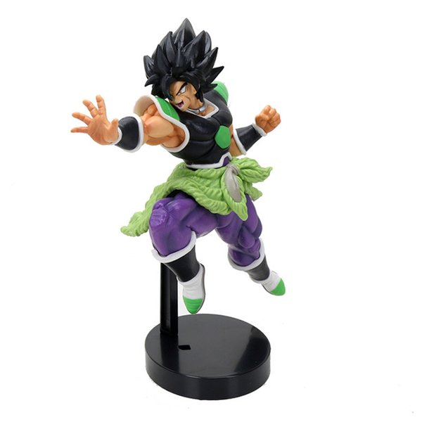 22cm Dragon Ball Super Broly Figurine Super Saiyan Broly Action Figure Dragon Ball PVC Doll Collection Toys Y190529