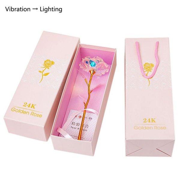 Vibration lamp