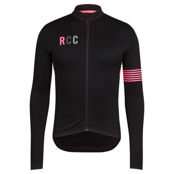 100% Lycra CoolMAX Herren RCC Radtrikot Wasserdicht Schnelltrocknend Ropa Ciclismo MTB Fahrradbekleidung Langarm Sportbekleidung Fahrrad Radsportbekleidung