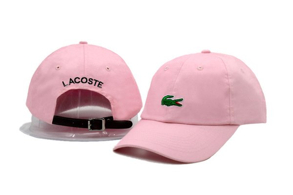 wholesale 10pcs/lot Crocodile Classic Sport Baseball Caps Golf Caps Sun Hat for Men Dad Cap Women 12 Colors Adjustable Snapback Cap