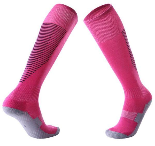 antiderrapante dos homens adultos crianças com mais de meias de futebol joelho engrossar toalha de fundo meias longo tubo garoto confortável crianças esportes resistentes de fitness