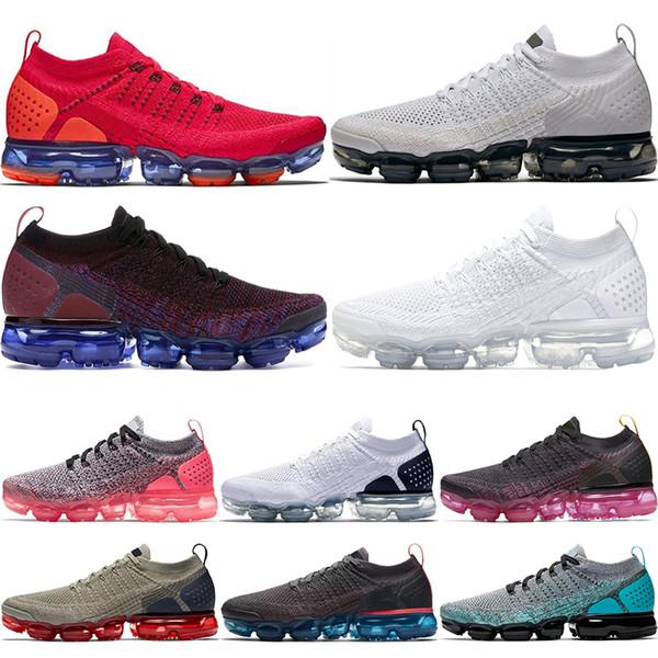 2018 2.0 Hombres Zapatillas de deporte para mujer Zapatillas de deporte para hombre Negro Metallic Gold Blanco Negro Entrenadores Deportes Running 2 zapatos para caminar del diseñador 36-45