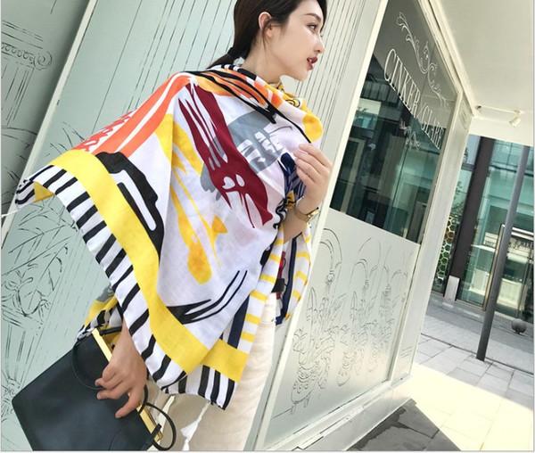 Four seasons new national wind tourism cotton and linen tassel shawl lady suntan suntan air conditioner shawl scarf 180x180cm