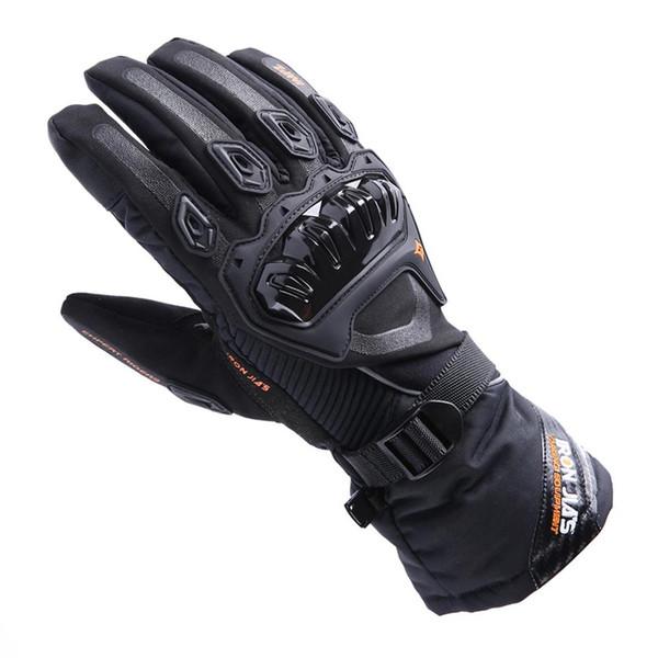Hot sale Motorcycle Gloves AXE01 Winter Touch Screen Waterproof Racing Gloves Motosiklet Eldiven Guantes Moto Luvas Alpine Motocross Stars