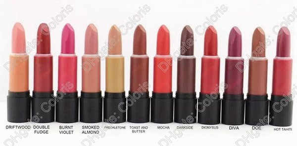 Makeup Matte Lipstick LipTensity Lipstick With Extreme Rouge A Levres 3g Undeniable Colour Resetto 12 Different Colors 50Pcs