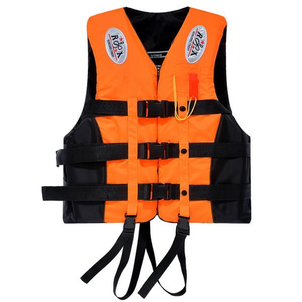 Portable Waterproof Oxford Clothes Life Jacket Orange