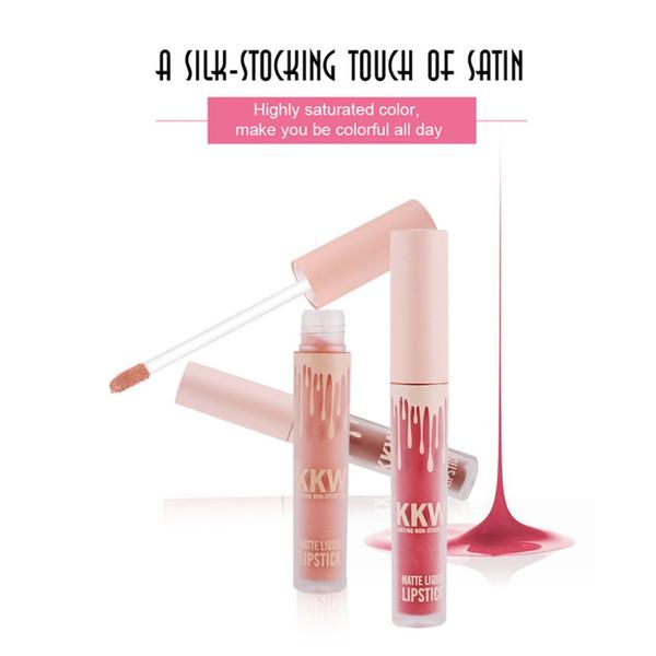 KKW Matte Sexy Liquid Lip Gloss Long Lasting Waterproof Keep 24 Hours makeup maquiagem maquillaje labiales batom pintalabios A23